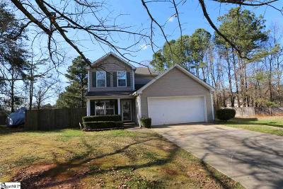 Easley SC Single Family Home For Sale: $159,900
