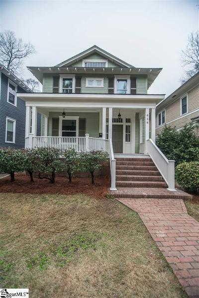 Spartanburg Single Family Home For Sale: 656 Maple
