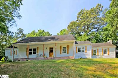 Greer Single Family Home For Sale: 289 Pine