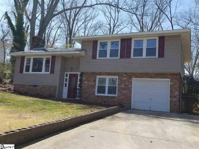 Greenville SC Single Family Home For Sale: $139,900