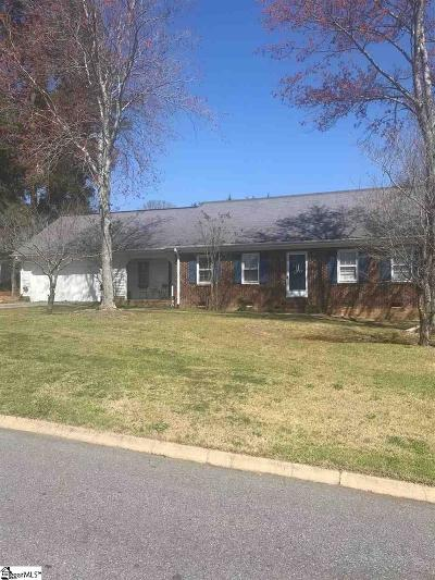 Greenville SC Single Family Home For Sale: $168,980