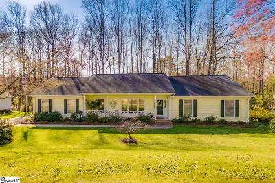 Greenville SC Single Family Home For Sale: $274,000