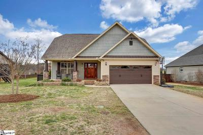 Travelers Rest Single Family Home For Sale: 109 Crimson Glory
