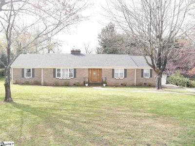 Greenville SC Single Family Home For Sale: $329,900