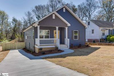 Greenville SC Single Family Home Contingency Contract: $279,900