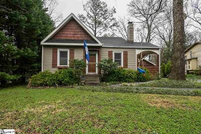 Greenville SC Single Family Home Contingency Contract: $189,400