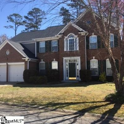 Greenville County Single Family Home Contingency Contract: 3 S Antigo