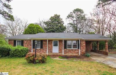 Fountain Inn Single Family Home Contingency Contract: 100 Patton