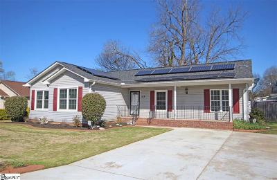 Greenville SC Single Family Home Contingency Contract: $143,000