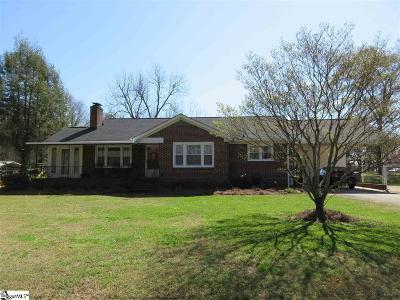 Greenville SC Single Family Home For Sale: $168,900