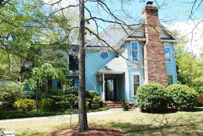 Greenville SC Single Family Home For Sale: $250,000