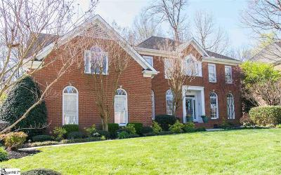 Simpsonville Single Family Home Contingency Contract: 207 Huddersfield