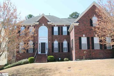 Greer SC Single Family Home For Sale: $554,900