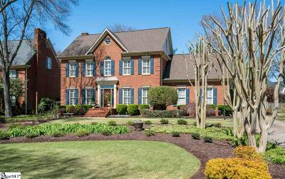 Simpsonville Single Family Home Contingency Contract: 8 Bramblewood