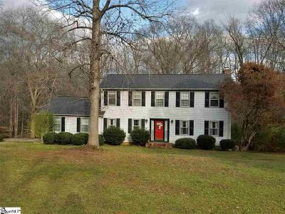 Piedmont Single Family Home For Sale: 116 Mill Creek