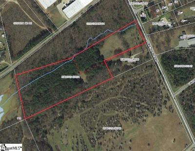 Greenville Residential Lots & Land Contingency Contract: 1804 Fork Shoals