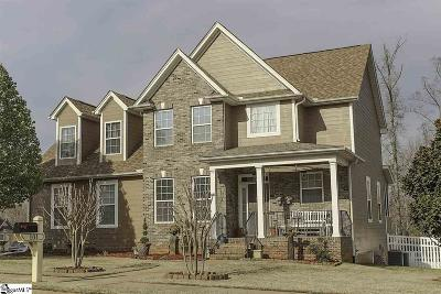 Taylors Single Family Home For Sale: 101 Hidden Springs