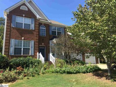 Travelers Rest Single Family Home Contingency Contract: 3 Dunwoody