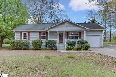 Anderson Single Family Home For Sale: 406 Westover