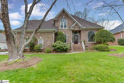 Greer Single Family Home For Sale: 9 Meadow Springs