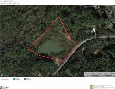 Taylors Residential Lots & Land For Sale: 20 Packforest