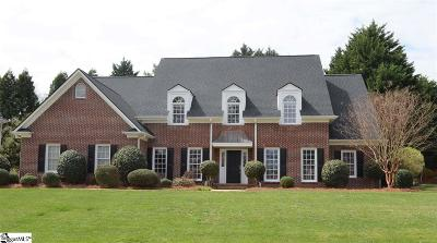 Simpsonville Single Family Home Contingency Contract: 107 Red Fern