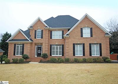 Simpsonville Single Family Home Contingency Contract: 7 Hickory Twig