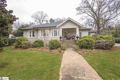 Greenville Single Family Home Contingency Contract: 403 McDaniel
