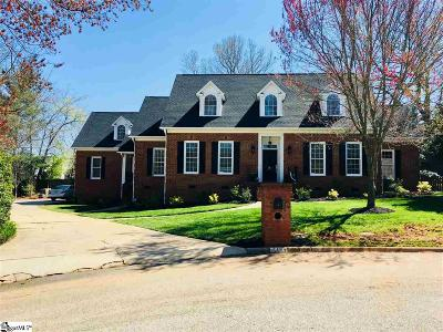 Greer Single Family Home Contingency Contract: 103 Sugar Mill