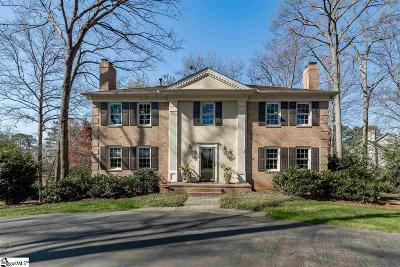 Greenville Single Family Home Contingency Contract: 13 Thornwood