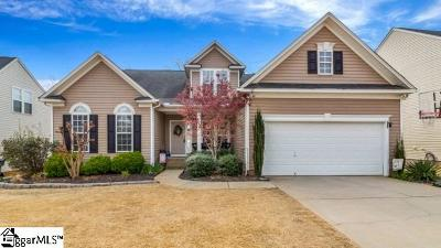 Greenville County Single Family Home For Sale: 31 Ridgeleigh