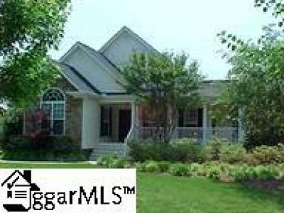 Easley Single Family Home For Sale: 100 Woodstone