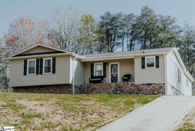Travelers Rest Single Family Home Contingency Contract: 15 Thunder