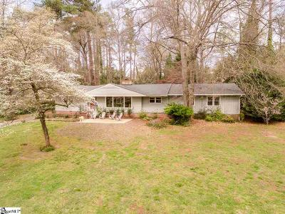 Spartanburg Single Family Home For Sale: 723 Dupre
