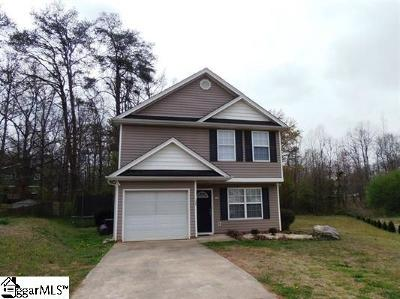 Boiling Springs Single Family Home Contingency Contract: 290 Chateau