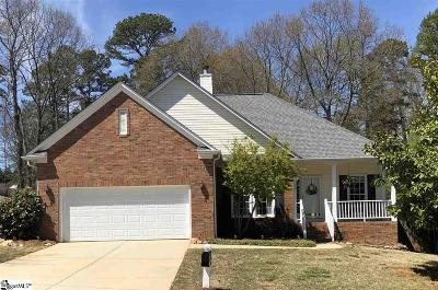 Mauldin Single Family Home Contingency Contract: 206 Hyde Park