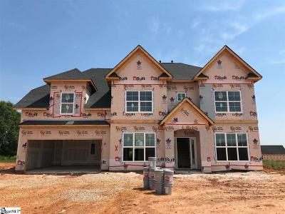 Simpsonville Single Family Home For Sale: 202 Walnut Hill #Homesite