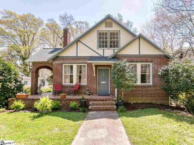Spartanburg Single Family Home Contingency Contract: 549 Poplar