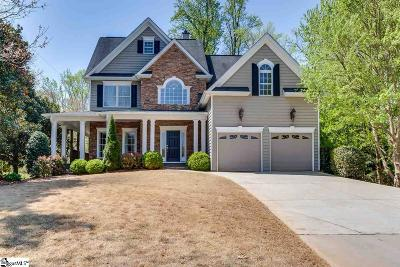 Greenville Single Family Home Contingency Contract: 30 Shannon Ridge