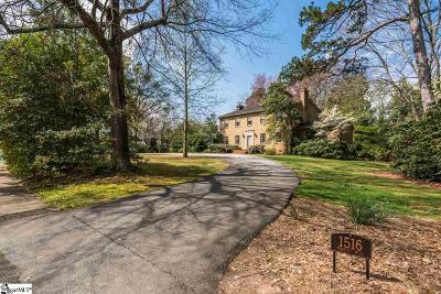 Greenville Single Family Home Contingency Contract: 1516 Parkins Mill