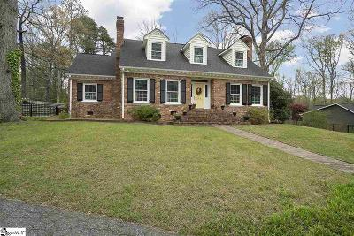 Greenville Single Family Home For Sale: 216 Sweetbriar