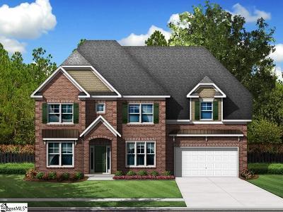 Boiling Springs Single Family Home For Sale: 499 Gorham #Homesite