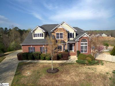 Simpsonville Single Family Home Contingency Contract: 18 Stonoview