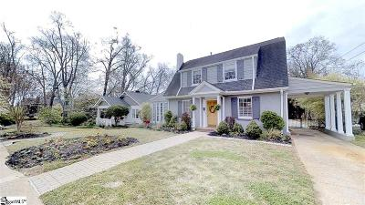 Greenville Single Family Home For Sale: 116 East Earle