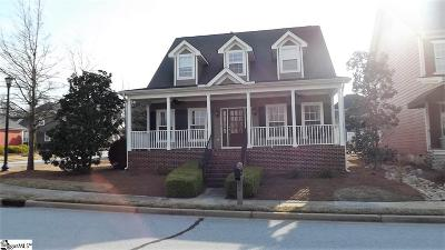 Simpsonville Single Family Home For Sale: 2 Spring Tree