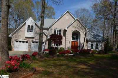 Anderson Single Family Home For Sale: 104 Plantation