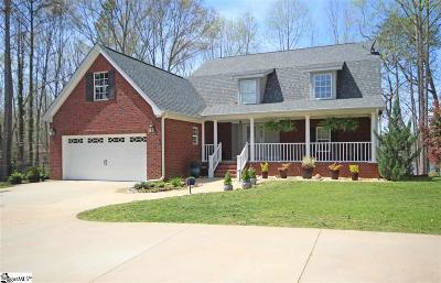 Greer Single Family Home For Sale: 115 Lake Robinson