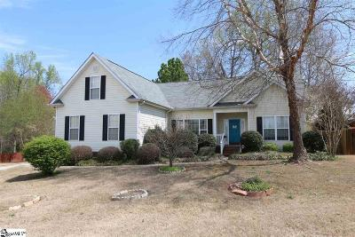 Simpsonville Single Family Home Contingency Contract: 104 Coltsfoot