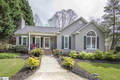 Greenville Single Family Home For Sale: 5 Cammer