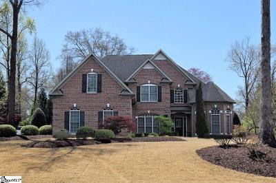 Spartanburg Single Family Home For Sale: 825 Southern Magnolia